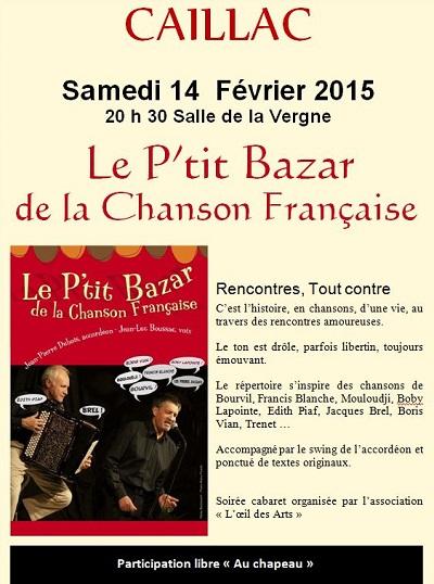 chanson française rencontre amoureuse